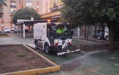 Los trabajos de desinfección de Limpieza se han desarrollado en Periáñez