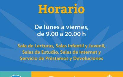 La Biblioteca Municipal José Riquelme  retoma todos sus servicios en horario ininterrumpido