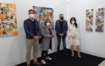 El Museo Cruz Herrera muestra hasta el 31 de mayo la exposición de David Sancho 'Pinturas de la pandemia', una explosión de color para contrarrestar la tristeza