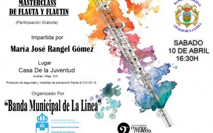 Este sábado, masterclass de instrumentos musicales organizado por el Conservatorio con la colaboración de la delegación de Juventud