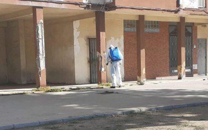 Los trabajos de desinfección se han desarrollado en la zona de La Atunara