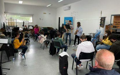 Juventud felicita a la Banda Municipal  tras el éxito de las masterclass de música celebradas con la colaboración del Conservatorio