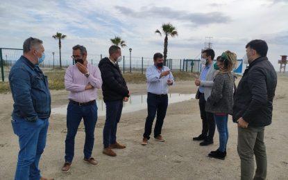 Demarcación de Costas ejecutará proyectos de mejora en la franja litoral linense y la recuperación ambiental de Arroyo Negro