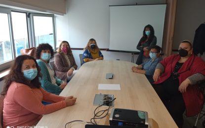 FEGADI COCEMFE recibe la visita de la coordinadora del instituto andaluz de la mujer de la Junta de Andalucía en Cádiz