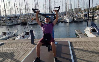 Inaugurado el gimnasio al aire libre en el Puerto Deportivo de Alcaidesa Marina