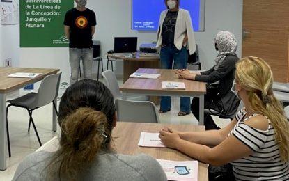 """El curso """"alfabetización digital, usando el móvil para encontrar empleo' se imparte desde hoy en los Junquillos"""