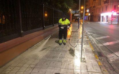 Los trabajos de desinfección de Limpieza se han desarrollado en la zona centro y la barriada de Los Junquillos