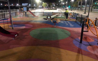 Los trabajos de desinfección de Limpieza se han desarrollado en la zona de Poniente