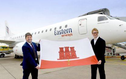 Eastern Airways ha iniciado hoy sus servicios aéreos desde Birmingham con destino Gibraltar