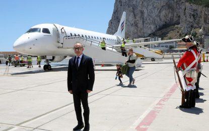 Aterriza en Gibraltar el primer vuelo desde Southampton