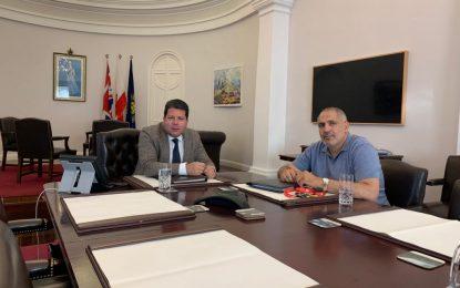 Picardo se reúne con la Asociación de la Comunidad Marroquí para abordar la repatriación de los residentes de Gibraltar bloqueados en Marruecos debido a la pandemia
