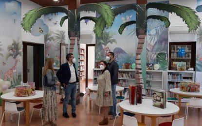 La Biblioteca retoma las actividades presenciales de animación a la lectura al aire libre