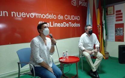 Juan Espadas, en La Línea: «Queremos convencer a la militancia, sin equívocos»