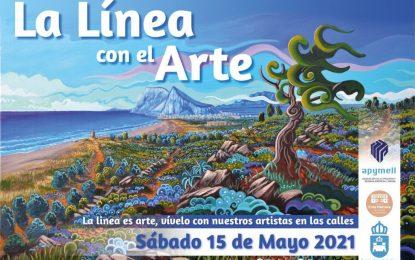 """Mercados y Comercio colabora con Apymell para la celebración del evento """"La Línea con el arte"""""""