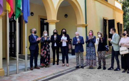 Helenio Lucas ha asistido esta mañana en un acto en Mancomunidad con motivo del Día de Europa