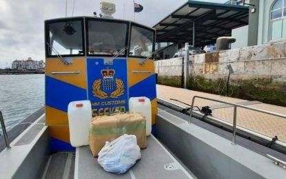 El Servicio de Aduanas realiza cuatro exitosas intervenciones en el mar y encuentra resina de cannabis valorada en aproximadamente 150.000 libras
