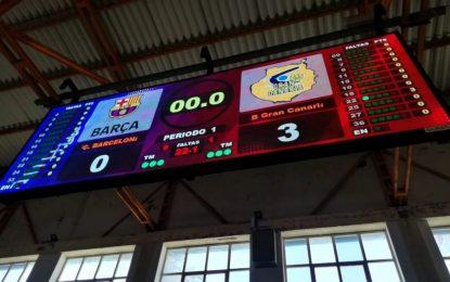 Deportes incorpora un nuevo videomarcador LED en el Pabellón Polideportivo Municipal
