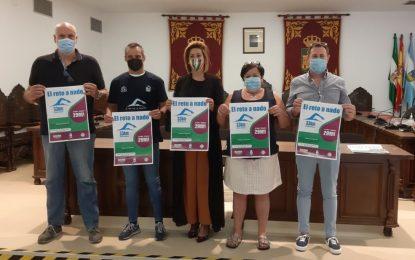 Carlos Vinuesa nadará los 33 kilómetros que separan la costa de La Línea y  Estepona a beneficio de Solidarios con los Niños