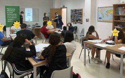 El Plan Local de Zonas desfavorecidas inicia el programa 'Somos La Línea' para transmitir a 25 menores de edad la importancia de la formación