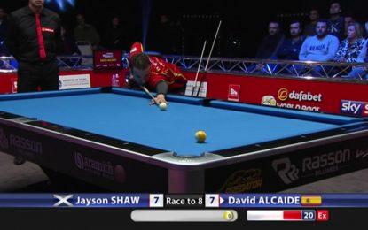 Los campeones mundiales de billar Bola 8 se baten en Gibraltar en el 'World Pool Masters' presencial