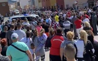 El PSOE de La Línea muestra su repulsa a los «actos vandálicos» de La Atunara