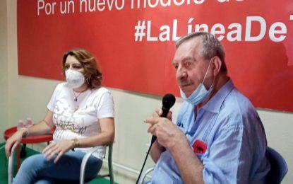 Susana Díaz es partidaria de un plan de formación y empleo en La Línea
