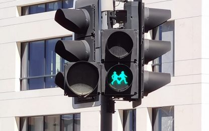 Los semáforos de algunos cruces de peatones en Gibraltar cambiarán sus señales en el marco de la campaña de concienciación LGBTQ+