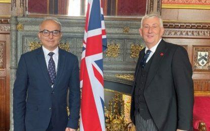 El Ministro Daryanani informa la Presidente de la Cámara de los Comunes británica sobre la situación del turismo, el comercio y los cruceros en Gibraltar