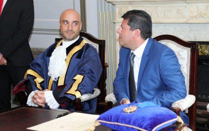 Christian Santos es desde esta mañana nuevo alcalde de Gibraltar