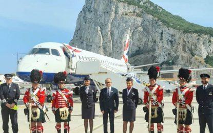 Se inauguran los vuelos desde el corazón de Londres al Peñón