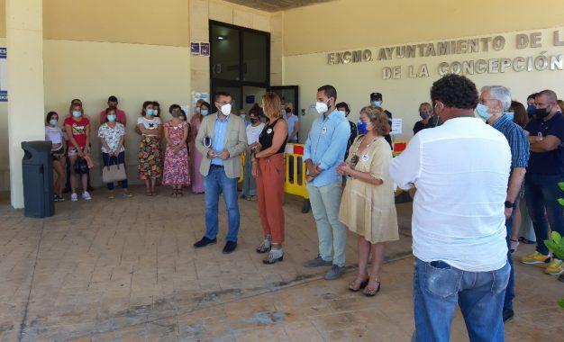 La Línea guarda un minuto de silencio por las últimas víctimas de violencia machista