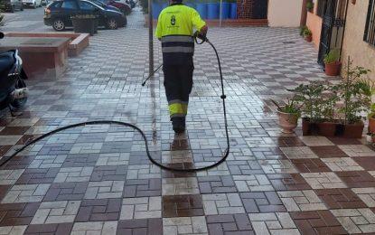 Los trabajos de desinfección de Limpieza se han llevado a cabo en La Atunara