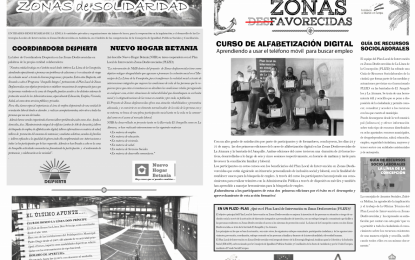 El Plan Local de Zonas Desfavorecidas publica la primera de una serie de gacetas informativas sobre la Atunara y el Junquillo