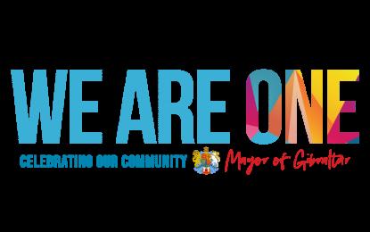 El Alcalde de Gibraltar lanza la Campaña We Are One para celebrar la diversidad y promover la unidad