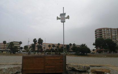 Playas ha instalado servicios de megafonía en todas las playas del litoral