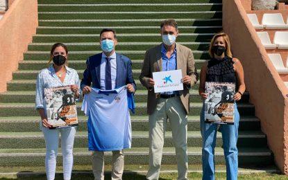 Caixabank beca a cinco menores linenses en riesgo de exclusión social para el Campus Fútbol Marbella de Adolfo Aldana