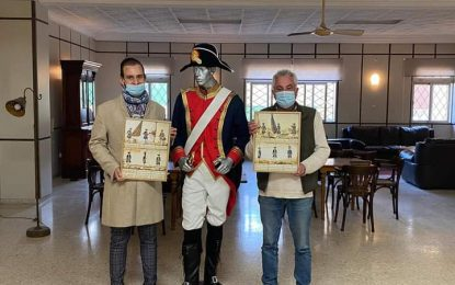 La Asociación del Fuerte de Santa Bárbara concede la insignia de oro a Antonio Sánchez Espinel