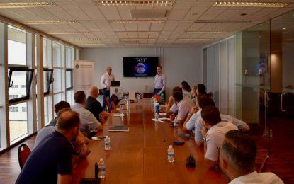 Investigadores del Homeland Security Department de EE. UU. visitan Gibraltar para reforzar sus lazos con la Policía Real de Gibraltar