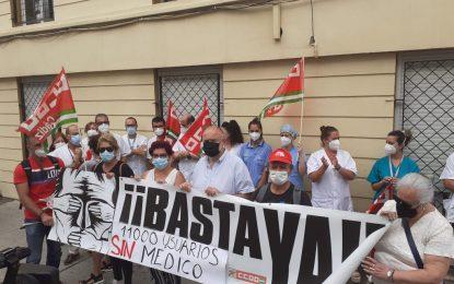 CCOO demanda soluciones para la falta de personal en el centro de salud de La Velada