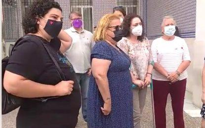 """Nieto denuncia el estado del Juzgado de Violencia sobre la Mujer de Algeciras y dice que """"no ha habido unificación, sino recorte en toda regla"""""""