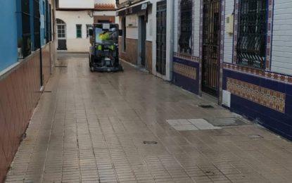Los trabajos de desinfección de Limpieza se han desarrollado en la zona centro