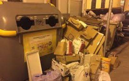 Mercados y Comercio  recuerda a los negocios la obligación de cumplir con los protocolos para el depósito de cajas de embalaje y cartón