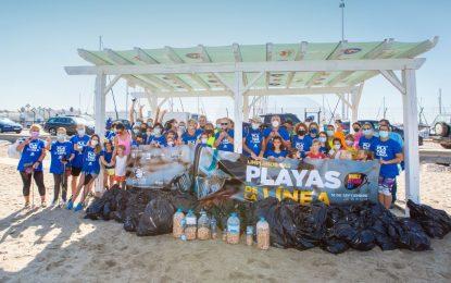 La Línea se ha sumado hoy a la celebración del Día Mundial de la Limpieza (World cleanup day)