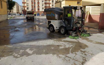 Limpieza continúa con la desinfección de los accesos a centros educativos