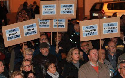 La Mesa de Trabajo por La Línea reclama una movilización unitaria ante el abandono del viejo hospital