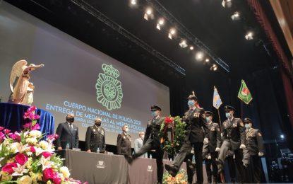 La ciudad acoge el acto de entrega de reconocimientos al mérito policial con motivo del patrón de la Policía Nacional