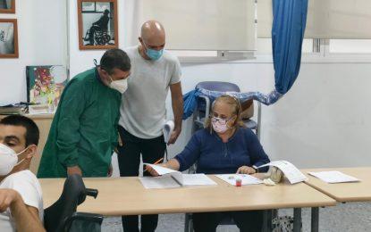 Visita del parlamentario Alfonso Candón a Fegadi
