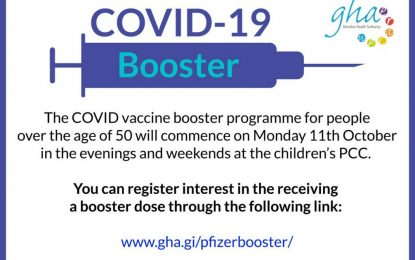 Gibraltar ofrecerá la vacuna de la gripe en la misma cita de la vacuna de refuerzo contra el Covid-19