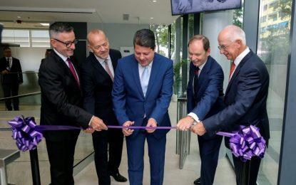 El Ministro Principal destaca la trayectoria de la radiotelevisión gibraltareña en la inauguración de su nueva sede