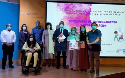 Jornadas presente y futuro  de las mujeres con discapacidad física y/u orgánica de Cádiz: Necesidades de Empoderamiento y Reorganización
